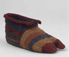 Children's sock of the right foot